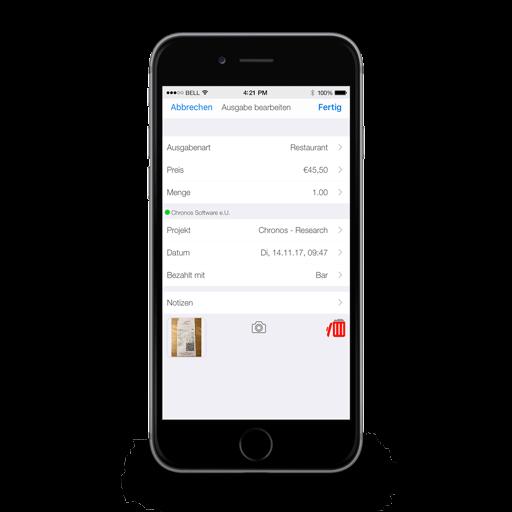Reisekostenerfassung Mobil