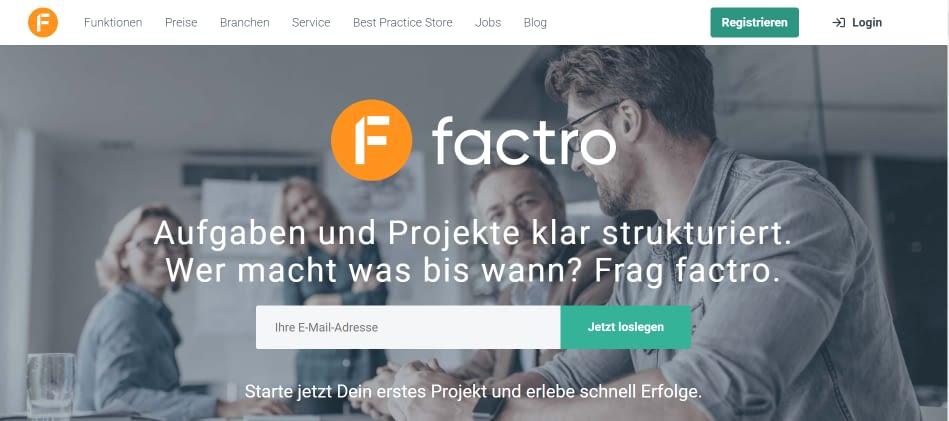 factro-webseite