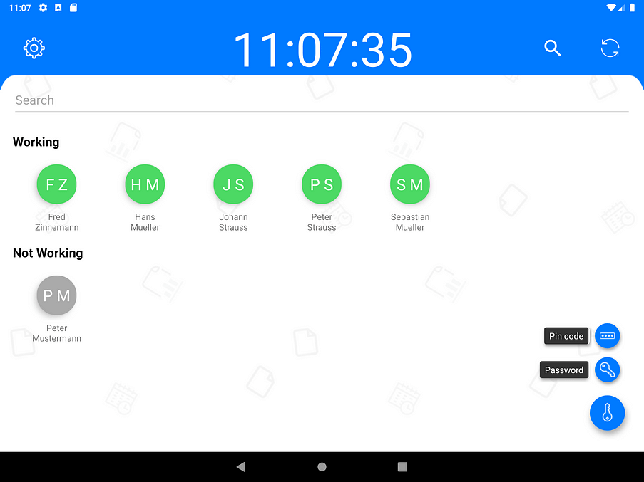 Attendance-Tracking-Terminal-Dashboard