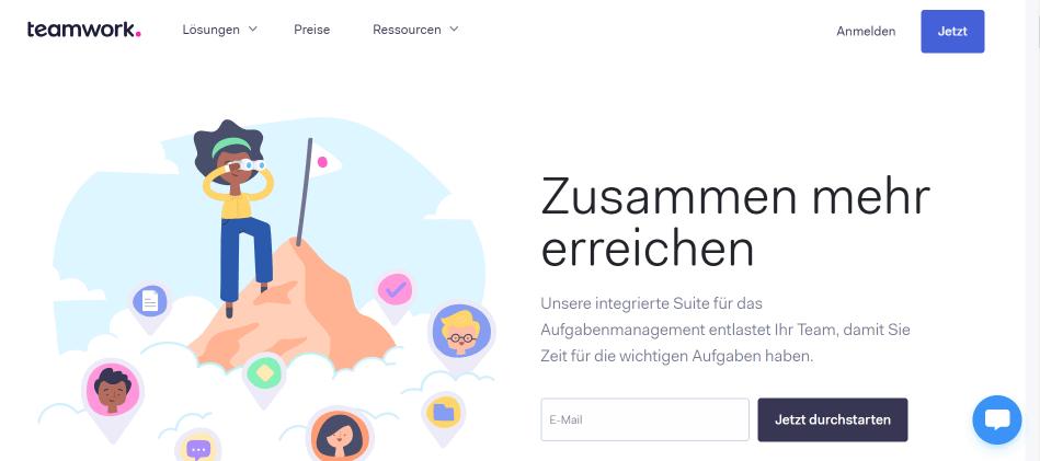 teamwork-webseite